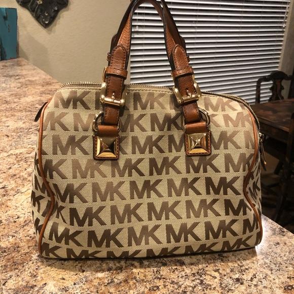 7393f4b9f8da Michael Kors Bags | Grayson Medium Satchel Handbag | Poshmark